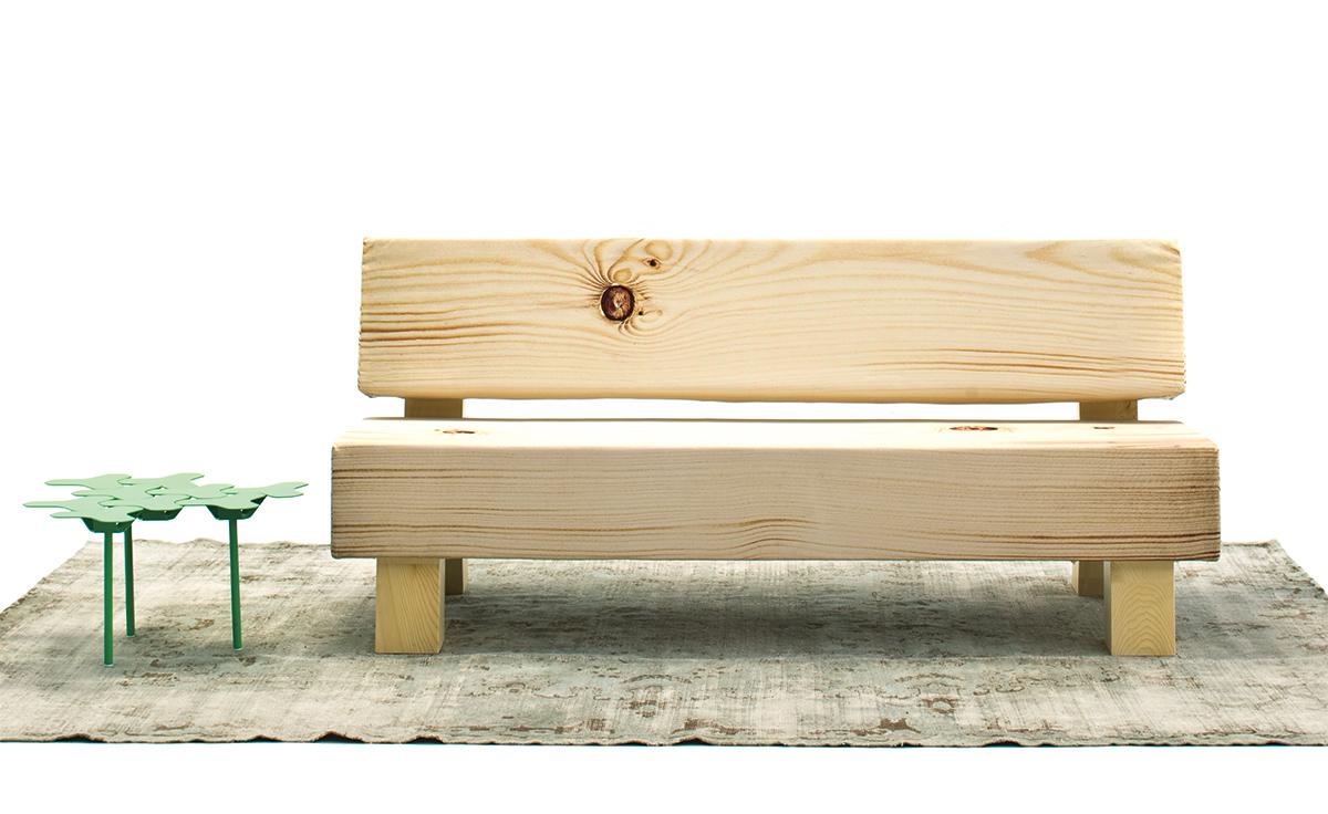 Superior Soft Wood Sofa