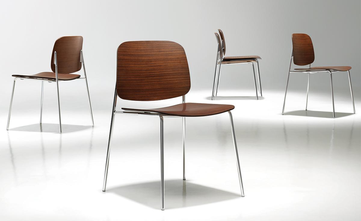 Sonar Stacking Chair Hivemodern Com