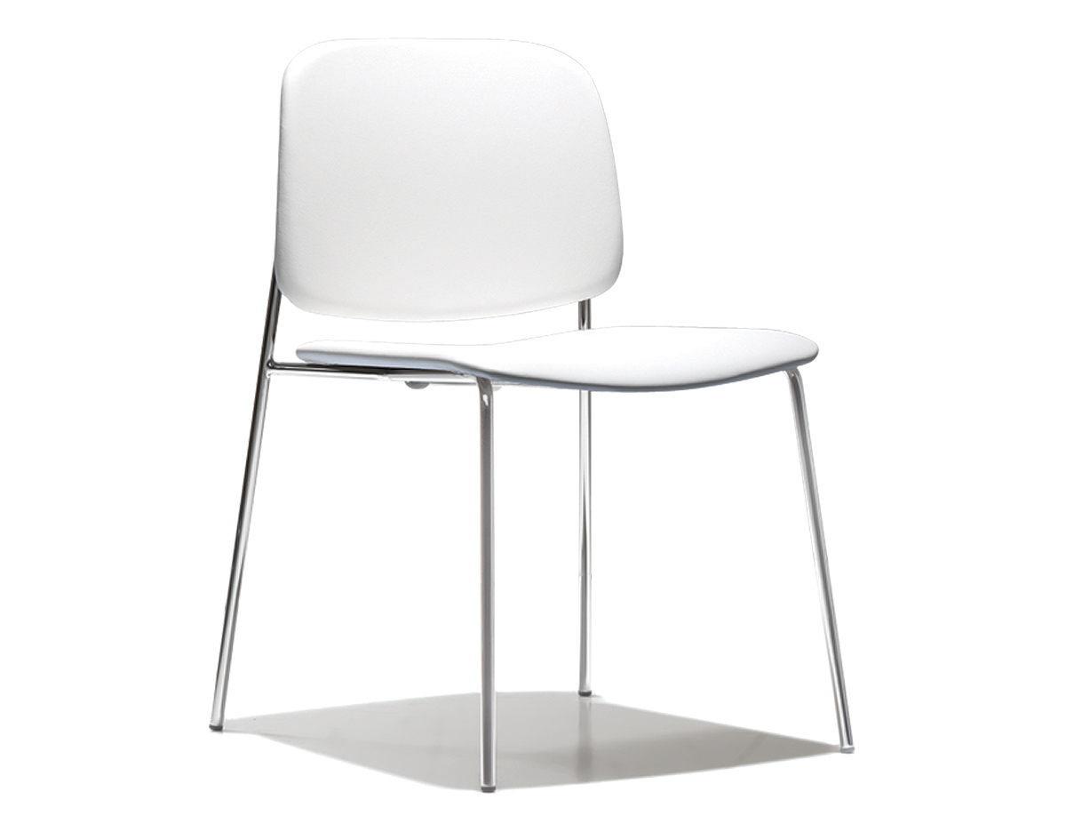 Sonar Stacking Chair Altherr Molina Lievore Bernhardt Design