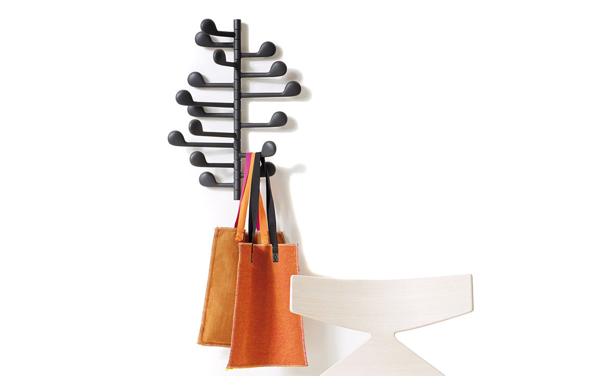 Song Wall Mounted Coat Rack Hivemodern Com