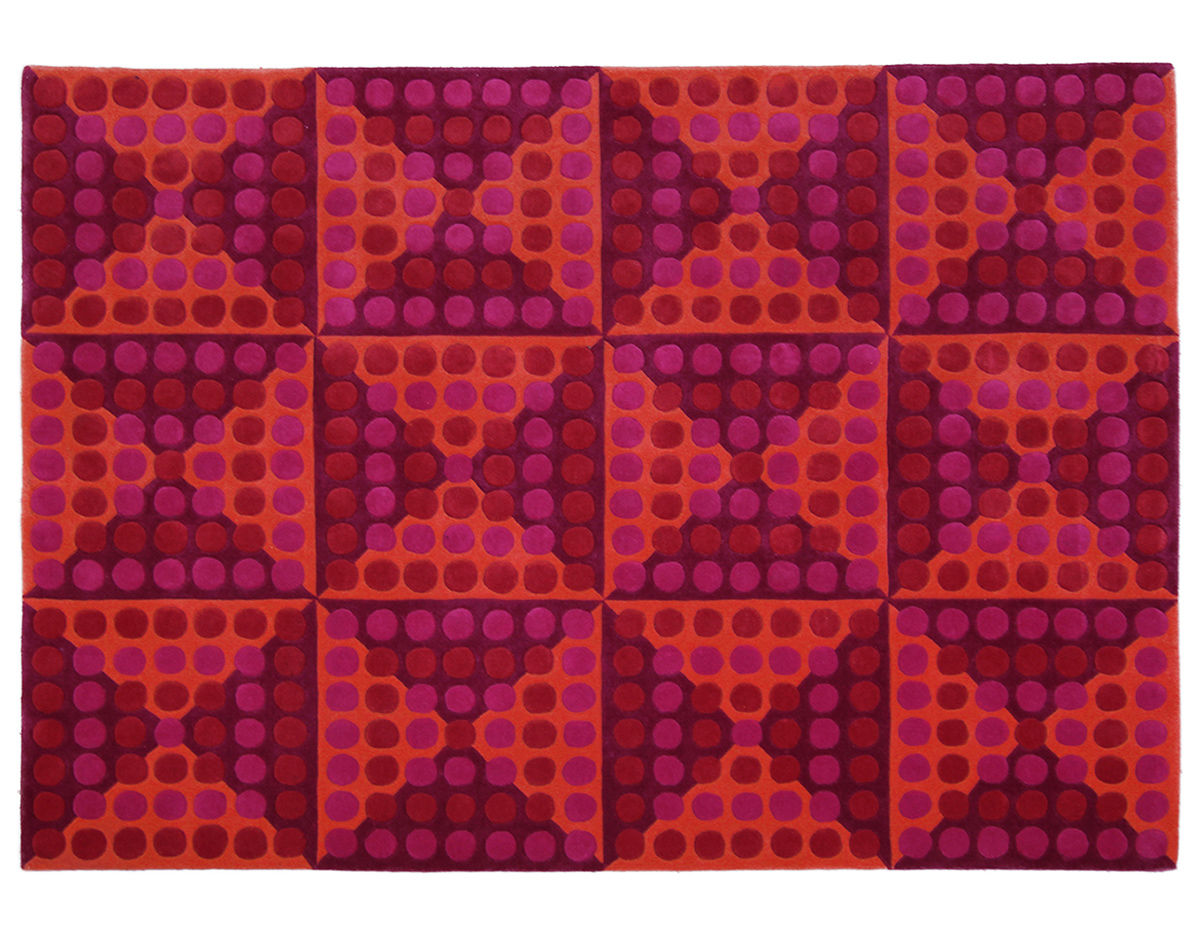 verner panton rug - verner panton rugs home decors collection