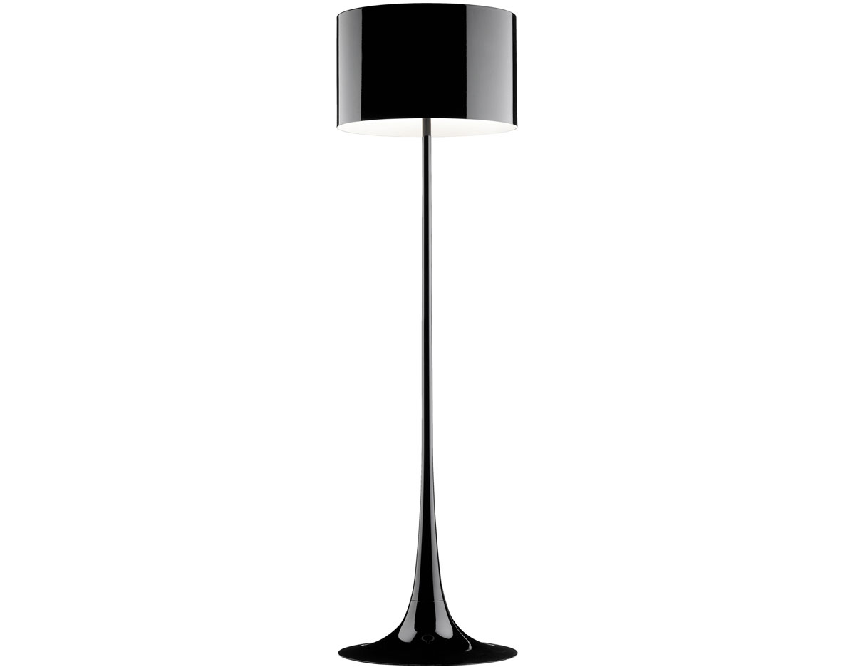Floor lamps hivemodern spun floor lamp flos aloadofball Image collections