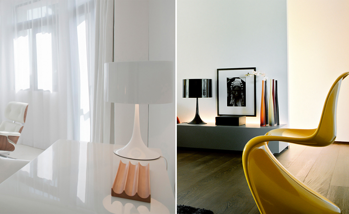 Spun Table Lamp Hivemodern Com