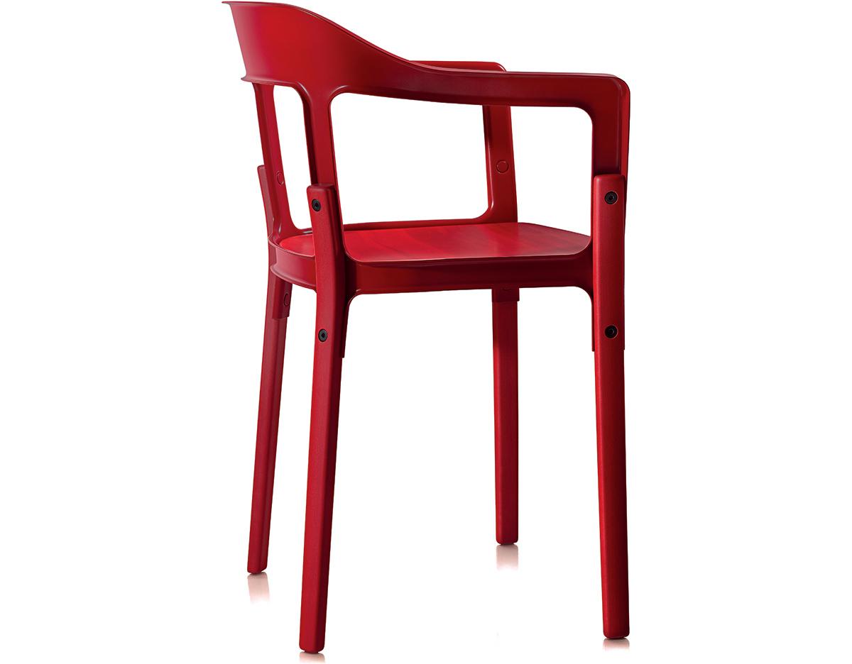 magis steelwood armchair. Black Bedroom Furniture Sets. Home Design Ideas