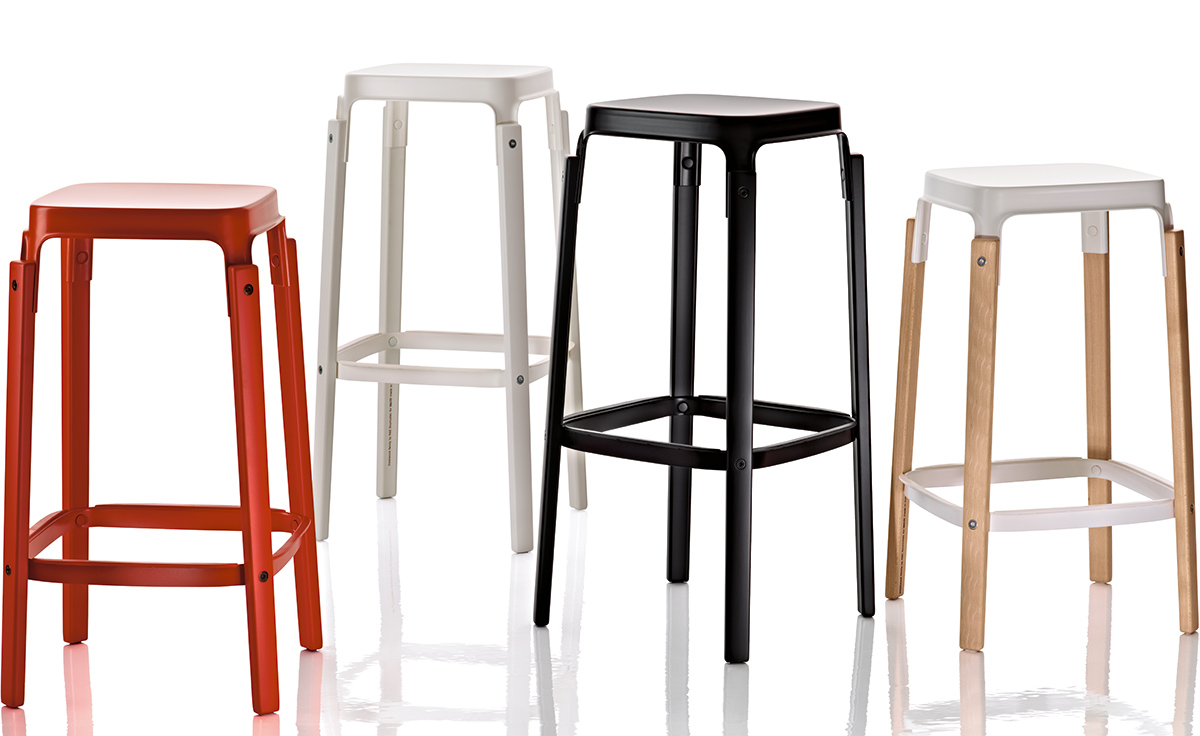 Magis steelwood stool for Magis steelwood