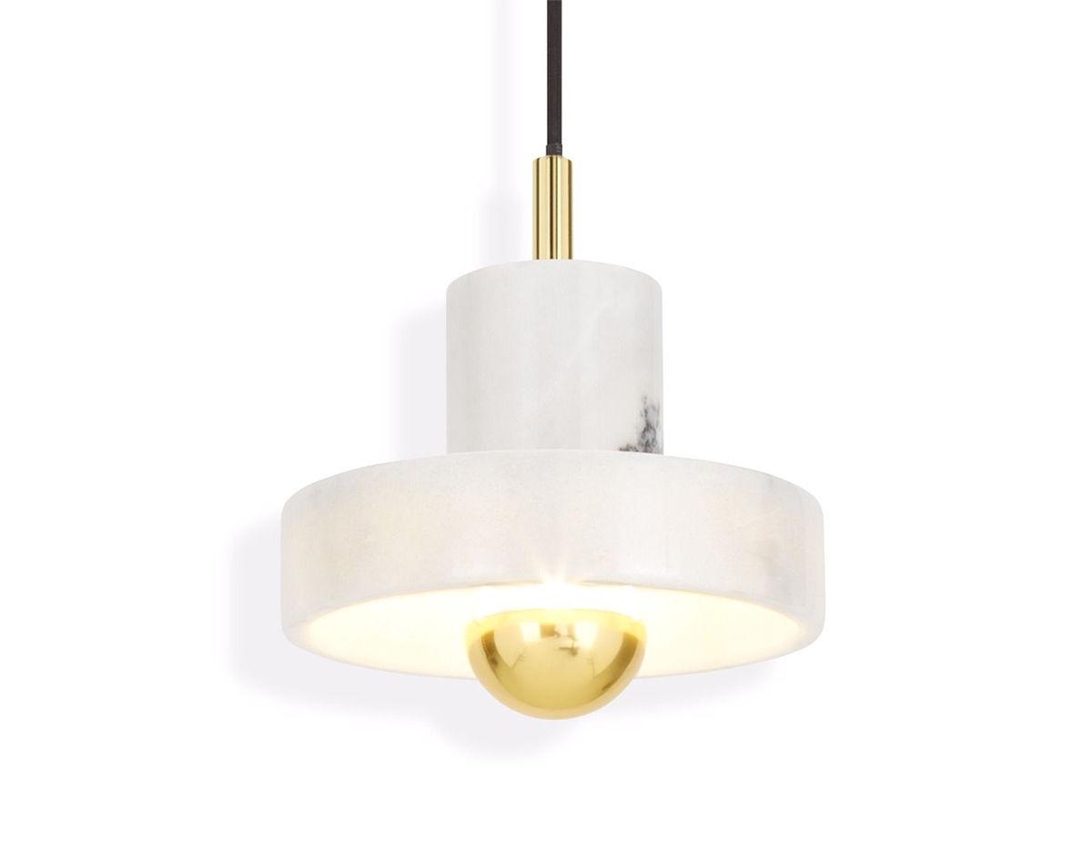 Stone Pendant Light Hivemodern Com