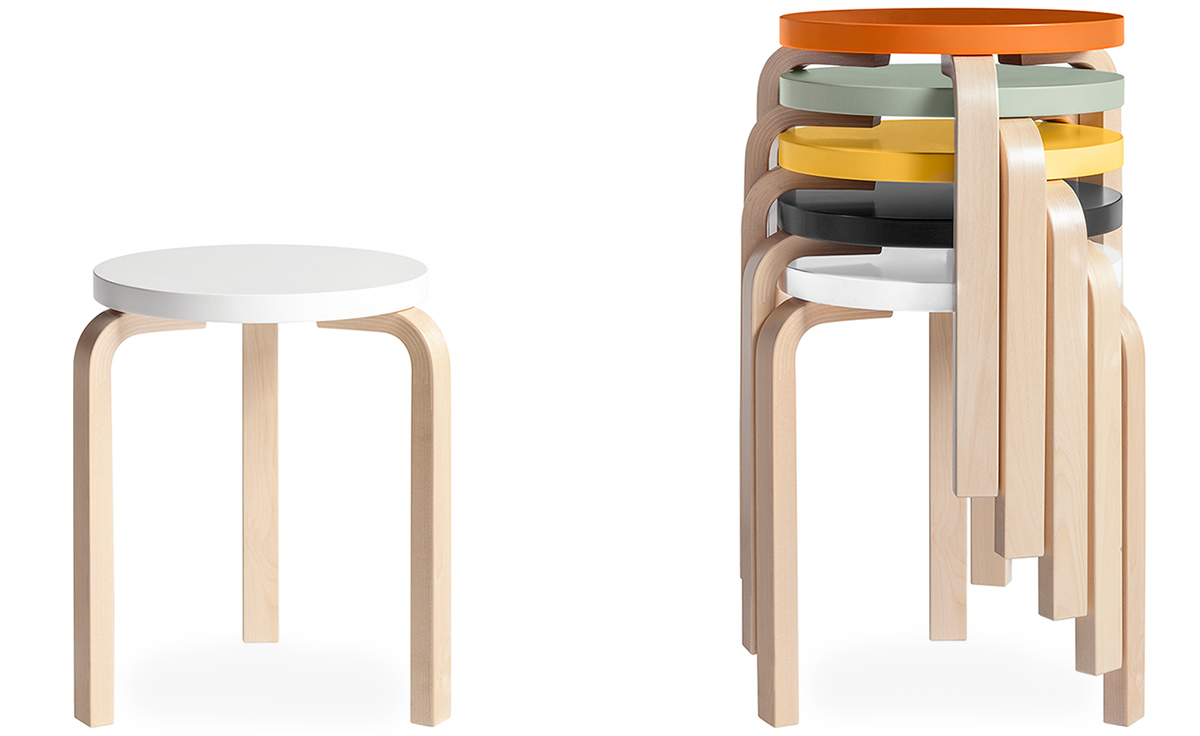 Alvar aalto stool 60 for Muebles design
