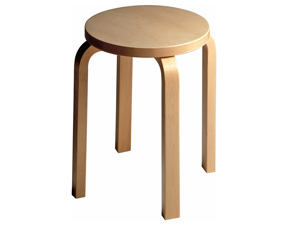 #9F6B2C Alvar Aalto Stool E60 Hivemodern.com with 1200x936 px of Most Effective Ikea Wood Stool 9361200 wallpaper @ avoidforclosure.info