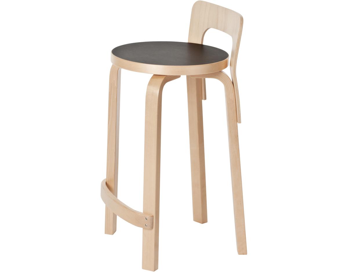 Alvar aalto stool k65 for Alvar aalto chaise