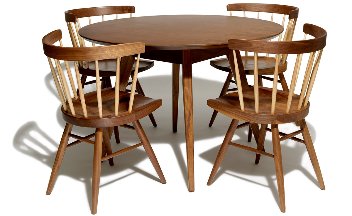 Nakashima Straight Chair Hivemodern Com