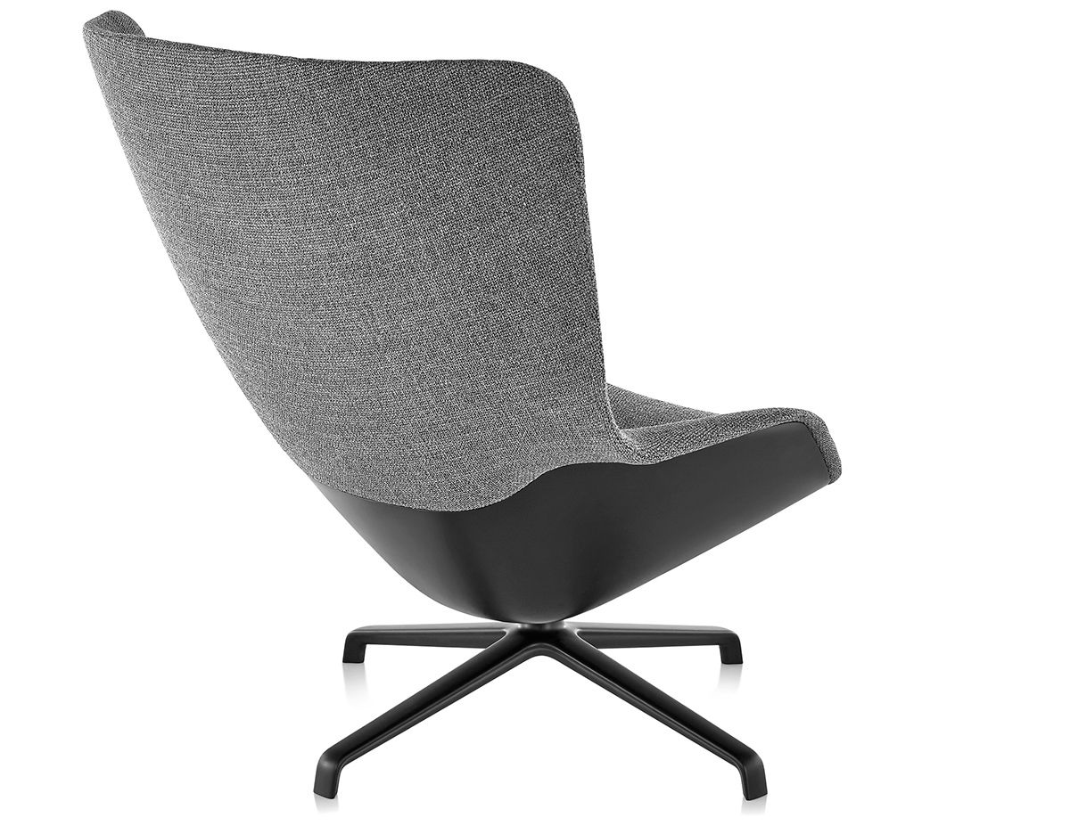Striad™ High Back Lounge Chair With 4 Star Base