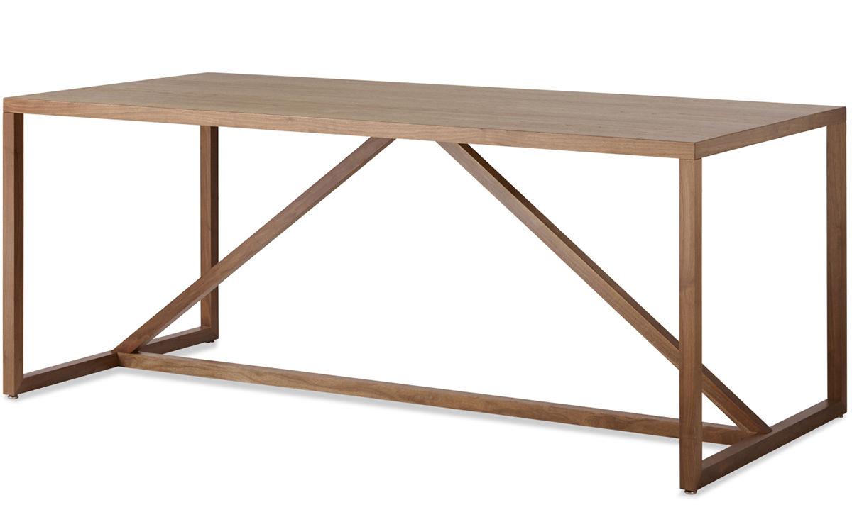 Strut Large Wood Table Hivemodern Com