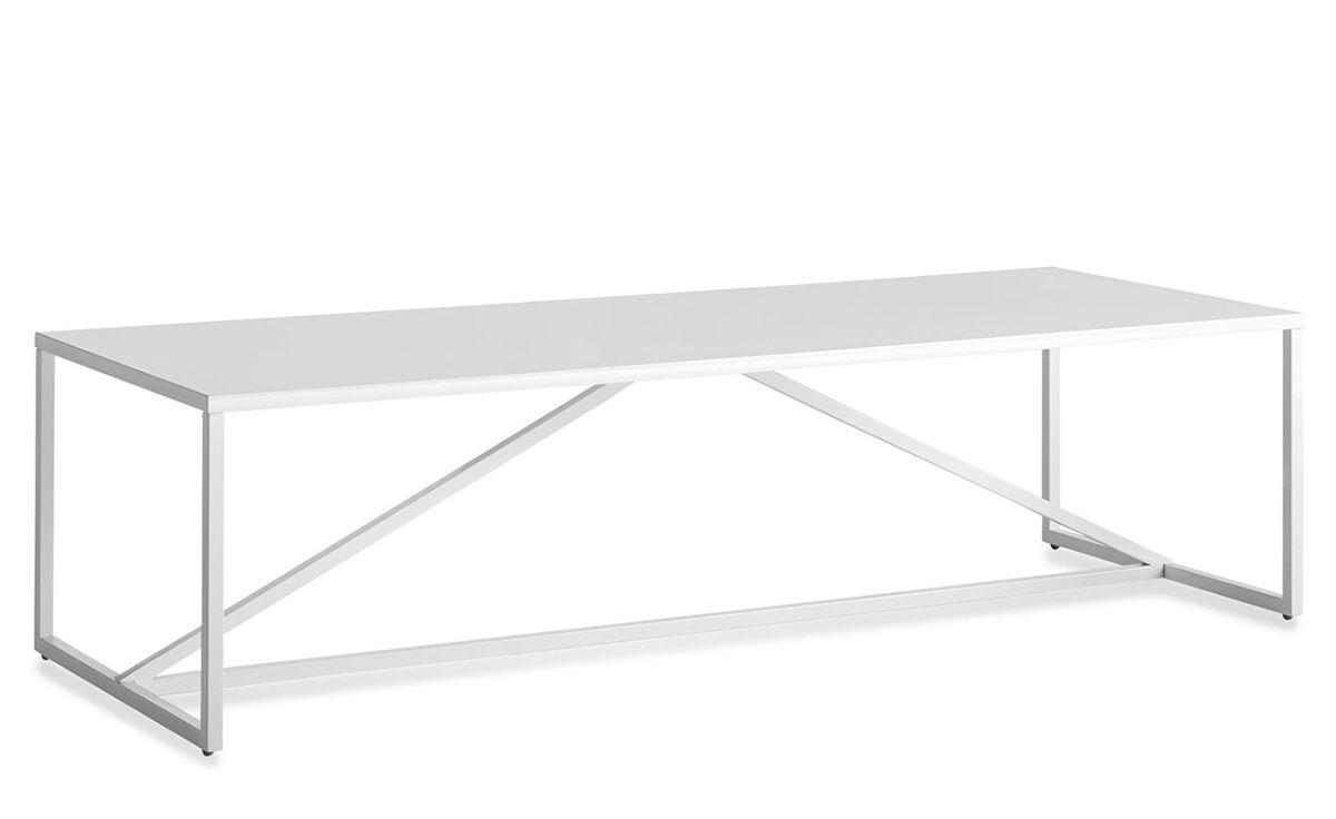 Strut Rectangular Coffee Table Hivemodern Com