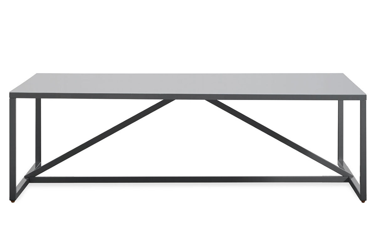 Coffee Table Square Strut Square Coffee Table Hivemoderncom