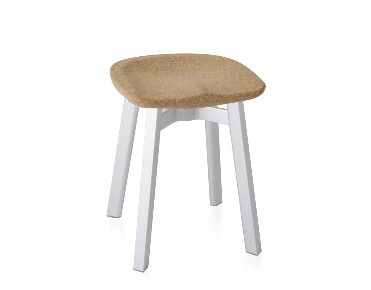 Su Small Stool With Cork Seat Hivemodern Com