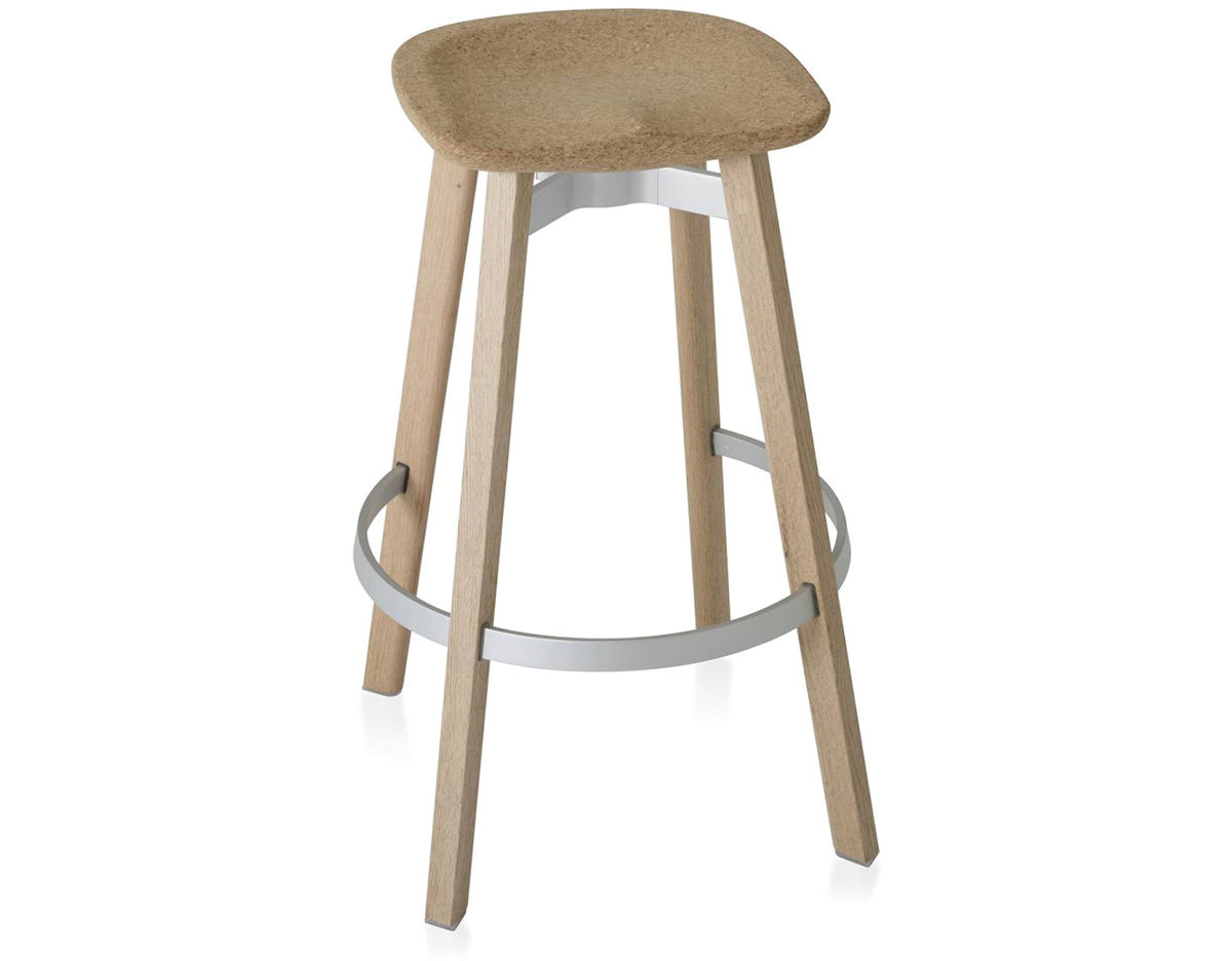 Su Stool With Cork Seat Hivemodern Com