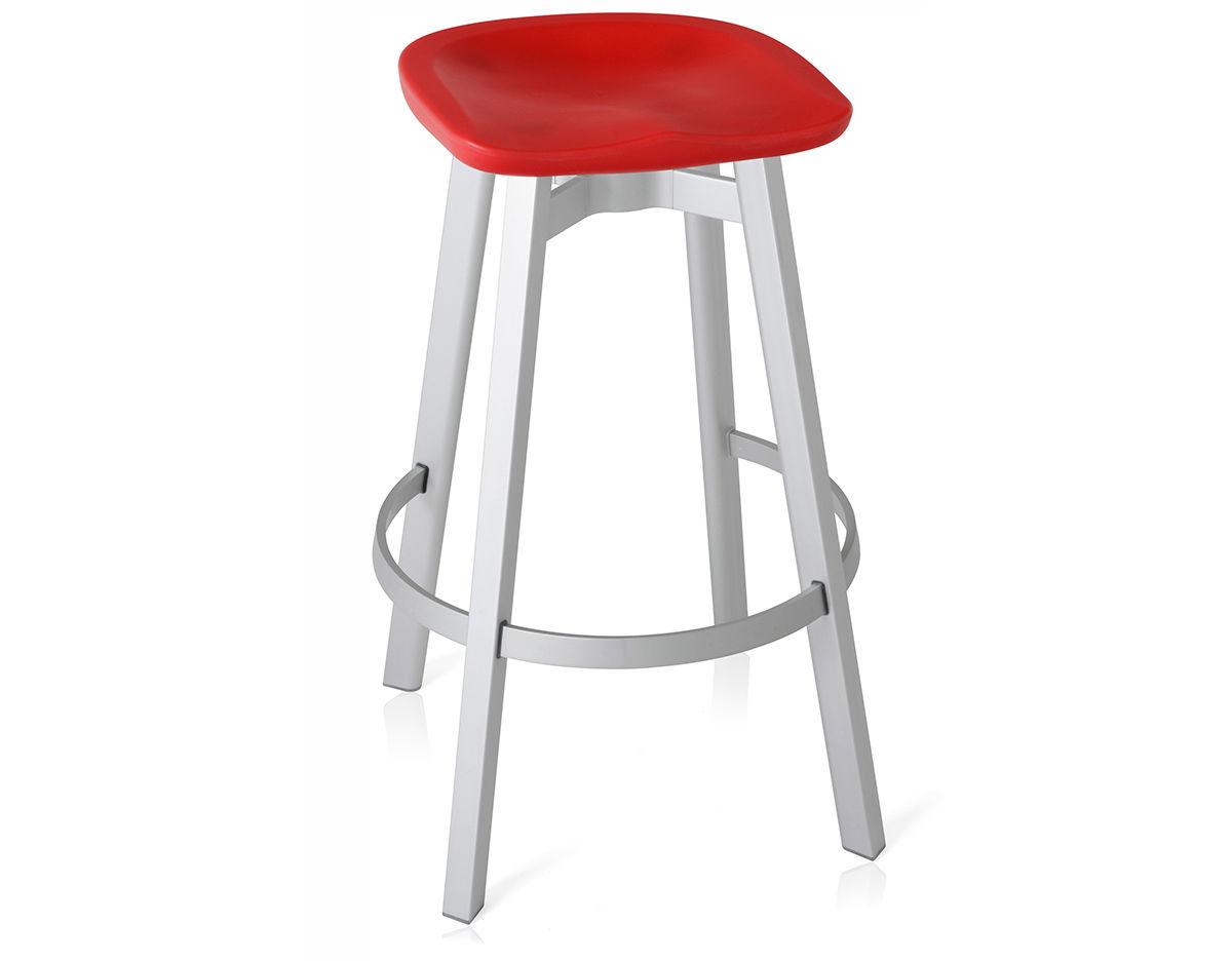 Su Stool With Plastic Seat Hivemodern Com