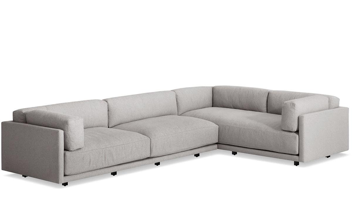 Sunday L Sectional Sofa Hivemodern