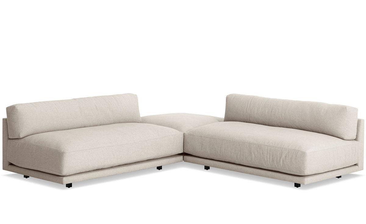 Wondrous Sunday Small L Sectional Sofa Uwap Interior Chair Design Uwaporg