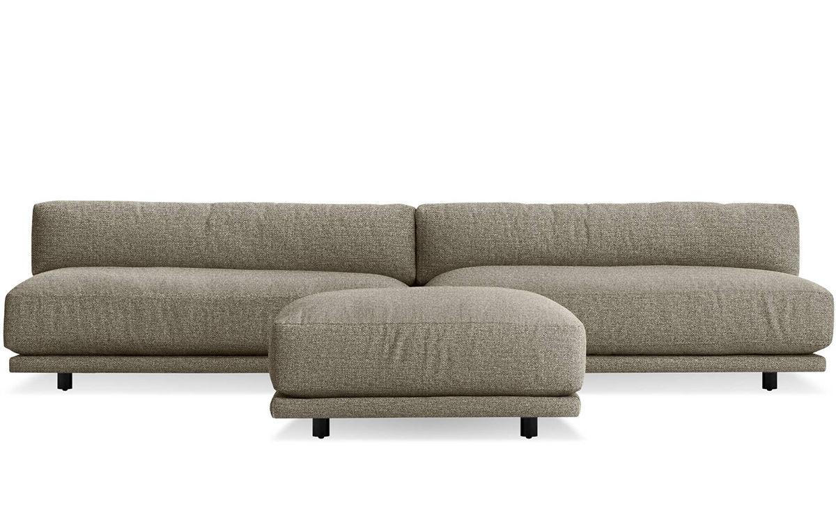 Terrific Sunday Small L Sectional Sofa Machost Co Dining Chair Design Ideas Machostcouk