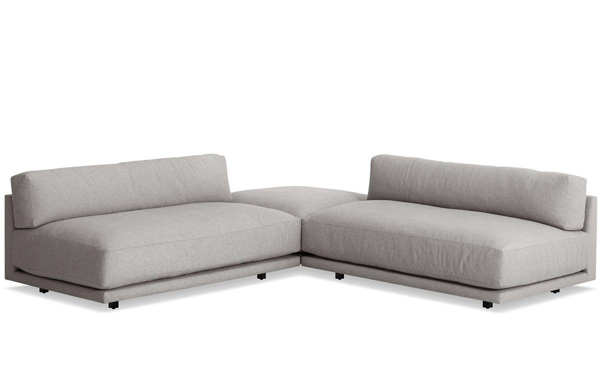 sunday small l sectional sofa blu dot 3