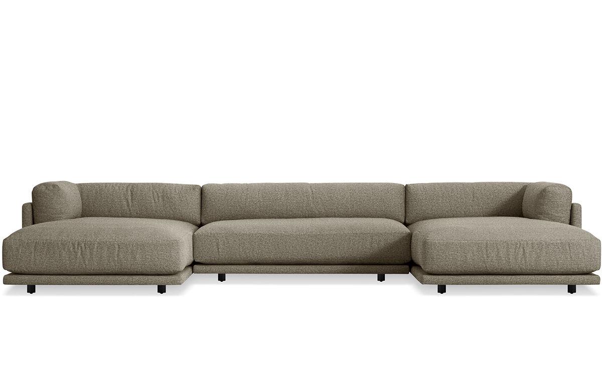 Sunday U Shaped Sectional Sofa