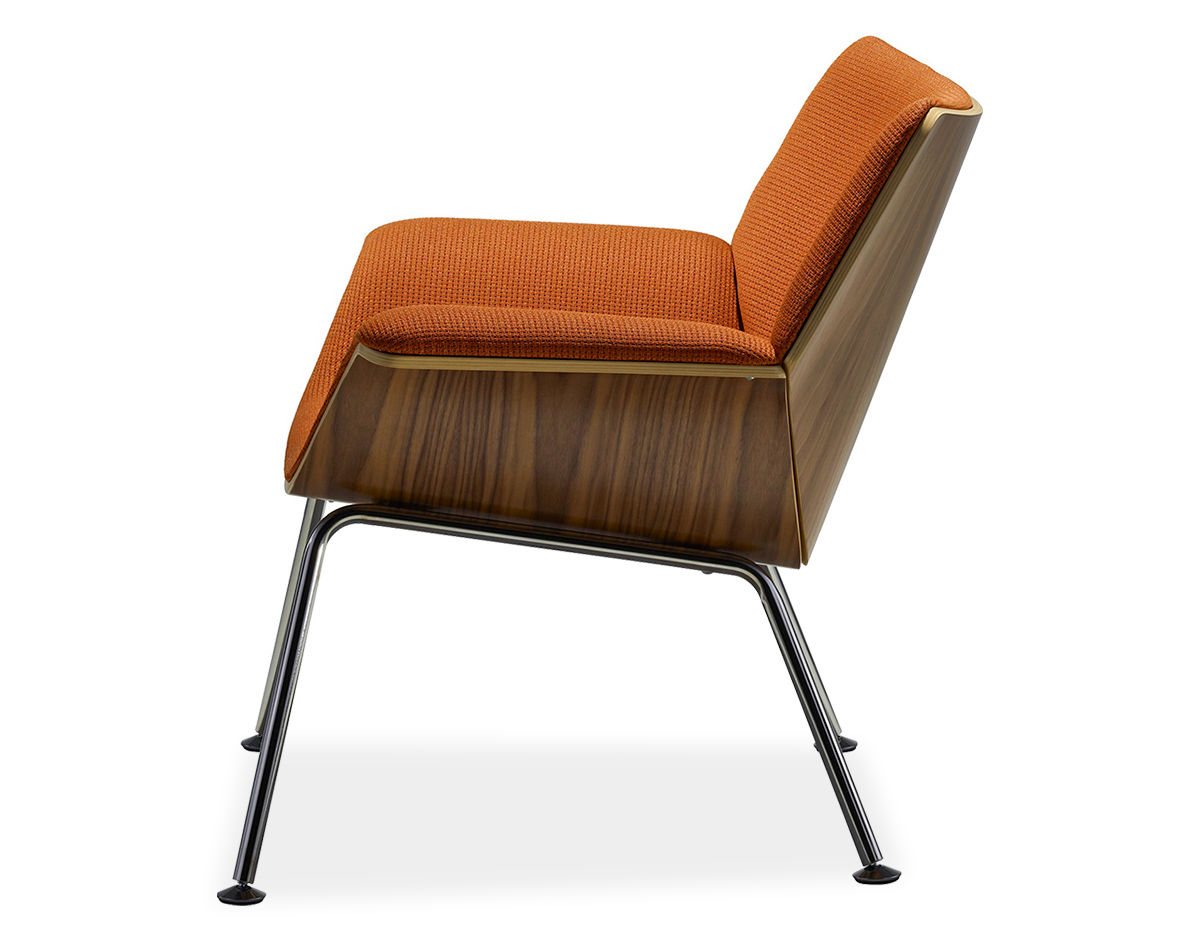 Launge Chair swoop plywood lounge chair - hivemodern