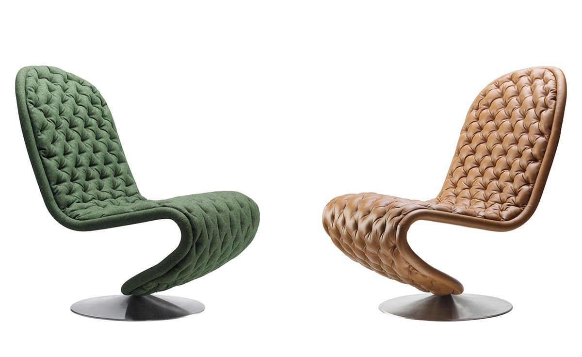 Panton System 1 2 3 Deluxe Lounge Chair