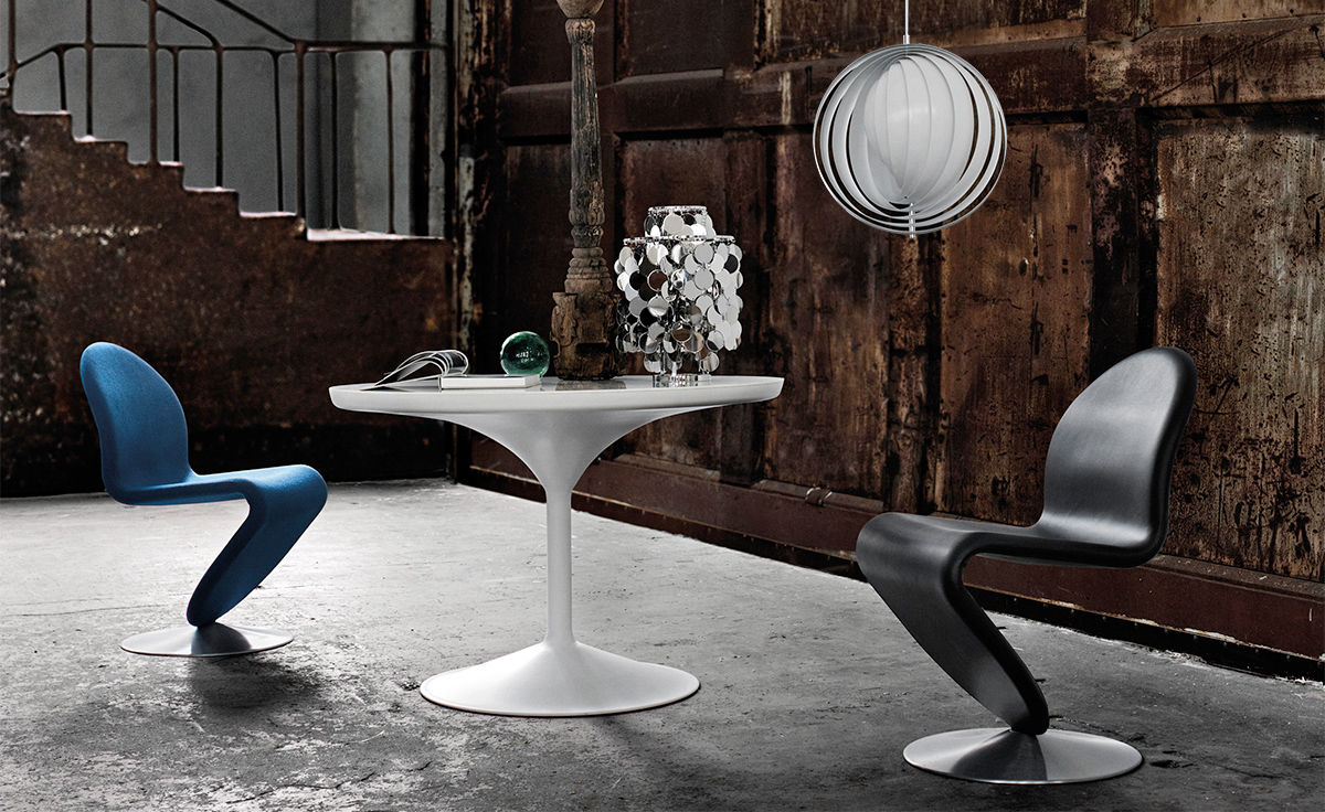 Panton System 1-2-3 Standard Dining Chair - hivemodern.com