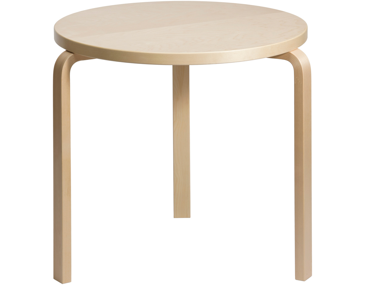 Artek Alvar Aalto 90c Table 23 6 Quot Height Hl1 Leg Artek 90c Round