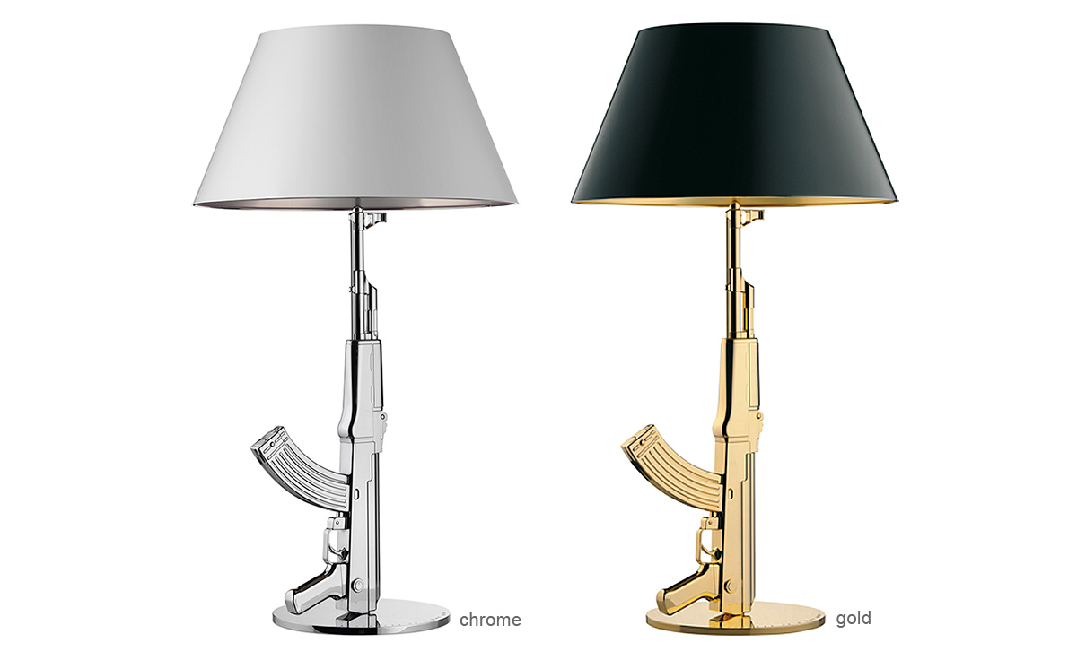 Table gun lamp for Philippe starck ak table lamp