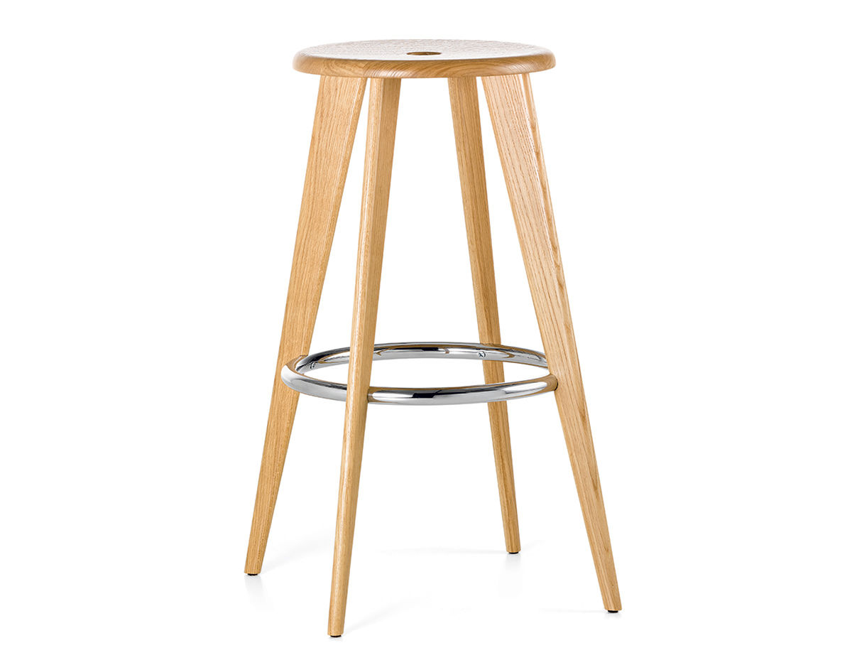 prouv tabouret haut stool. Black Bedroom Furniture Sets. Home Design Ideas