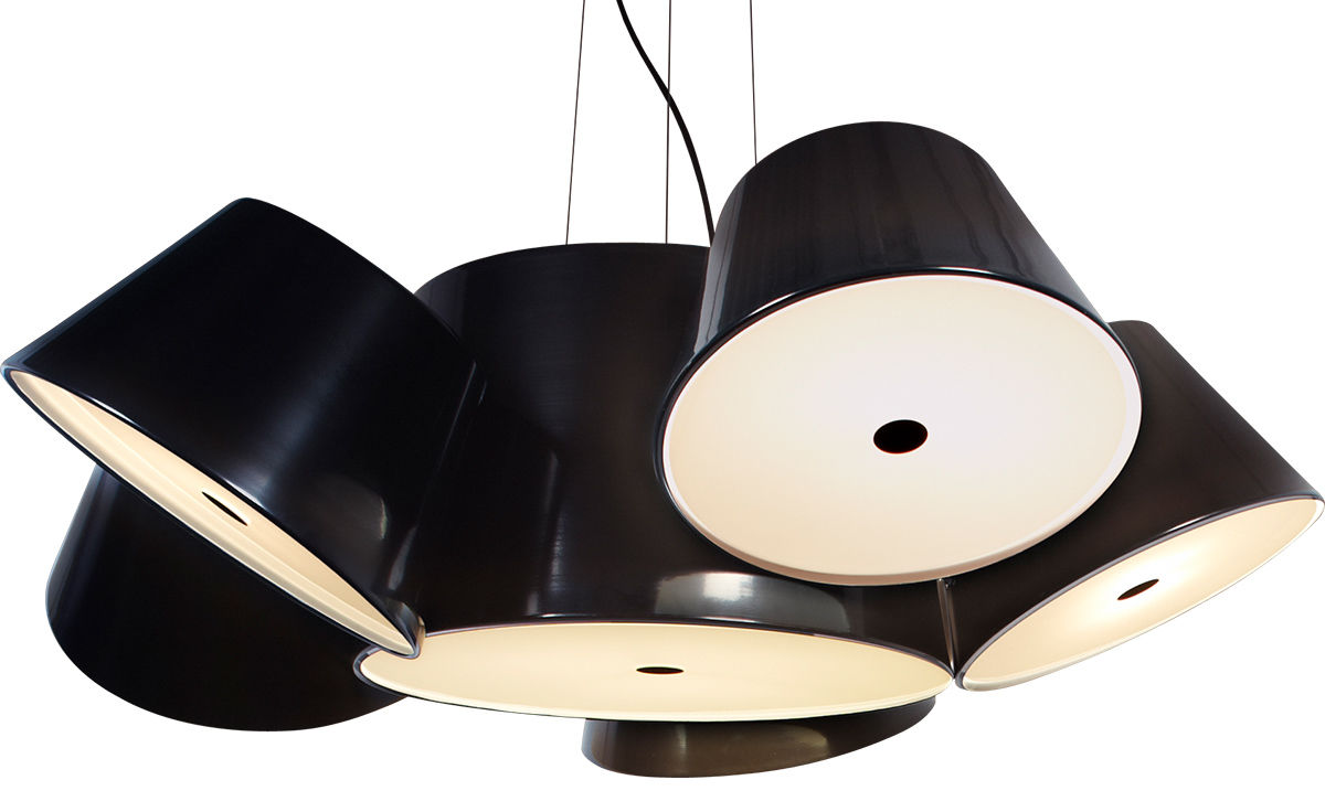 Tam tam 5 suspension lamp - Voetenbank tam tam ...