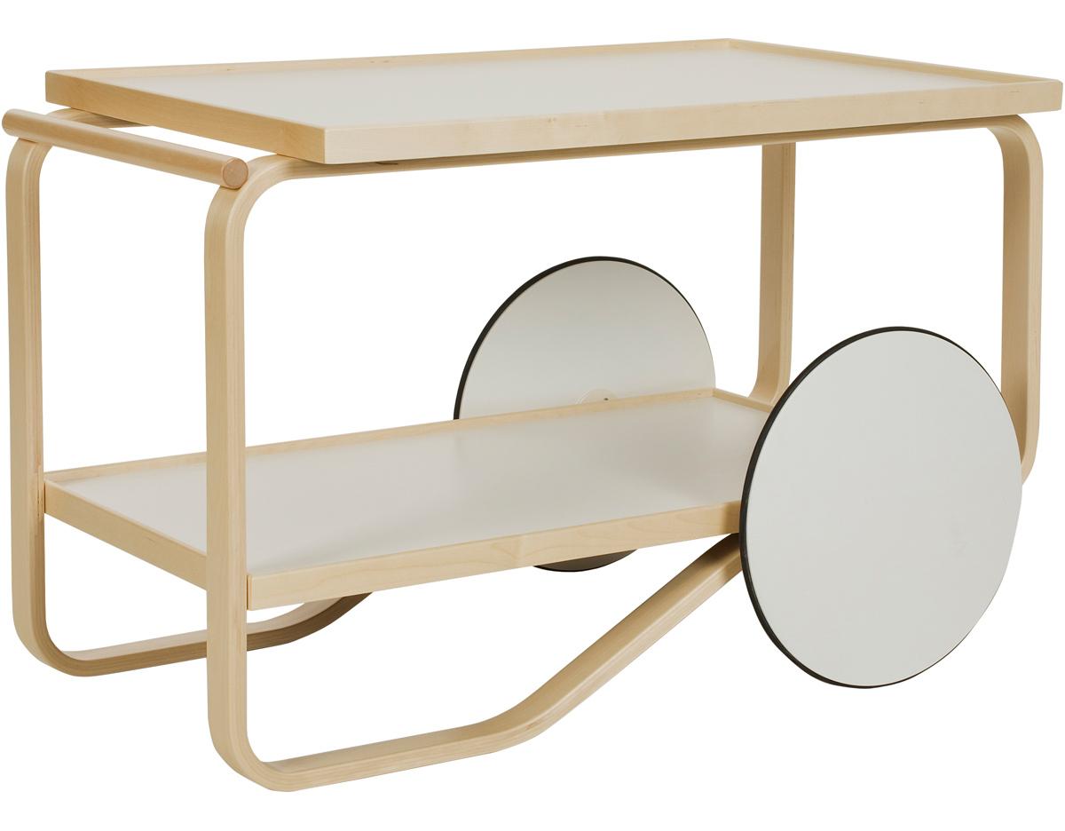 Alvar Aalto Tea Trolley 901 Hivemodern Com