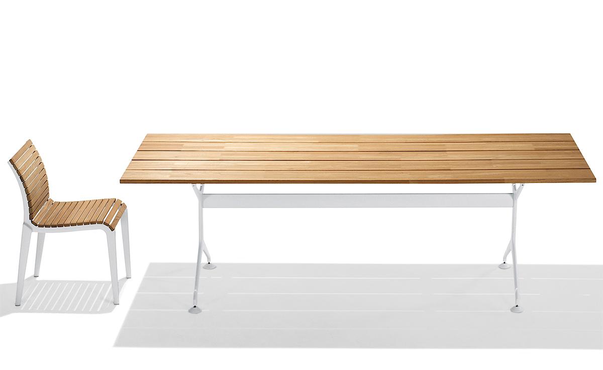 Teak Folding Table 200f Hivemodern Com - Overview