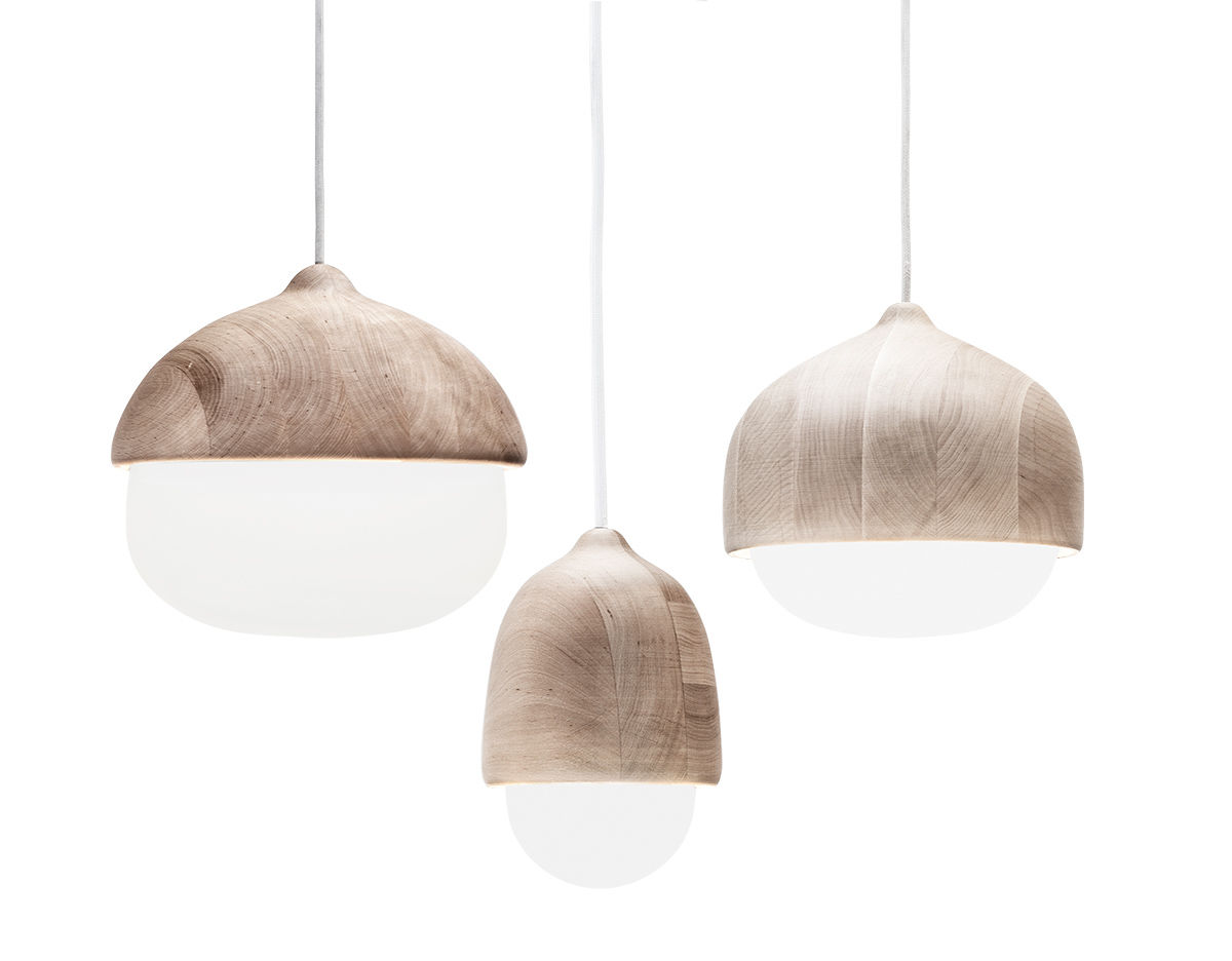 Terho suspension lamp for Suspension a 3 lampes