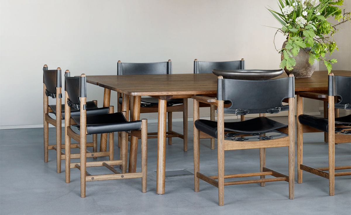 The Spanish Dining Chair Hivemodern Com, Dining Room Furniture In Spanish