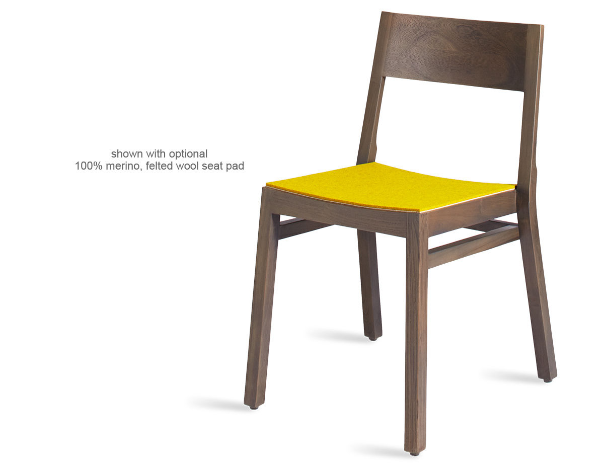Timber stackable dining chair for Stackable dining room chairs
