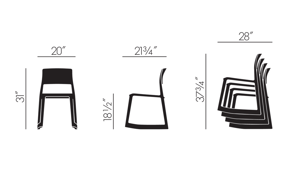 Tip Ton Chair Hivemodern Com