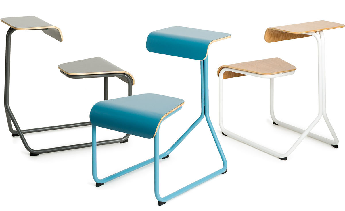 Toboggan® Chair Desk - hivemodern.com