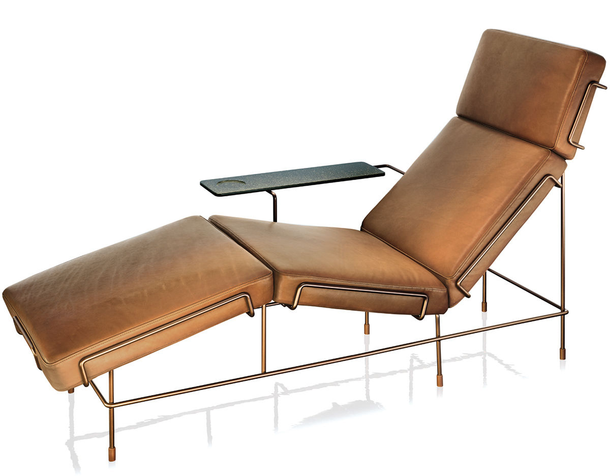 Magis traffic chaise lounge for Chaise lounge construction