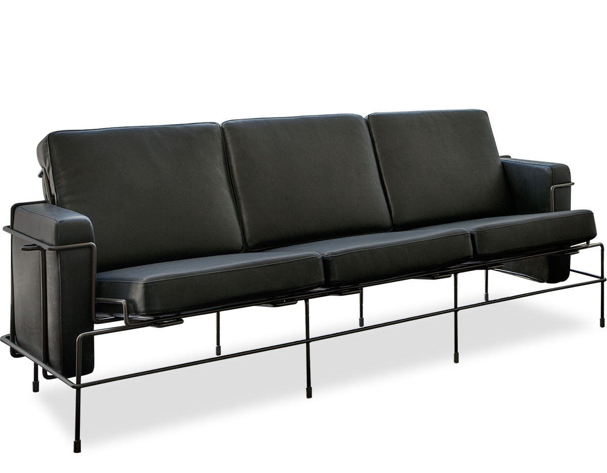 Traffic Three Seat Sofa Hivemodern Com