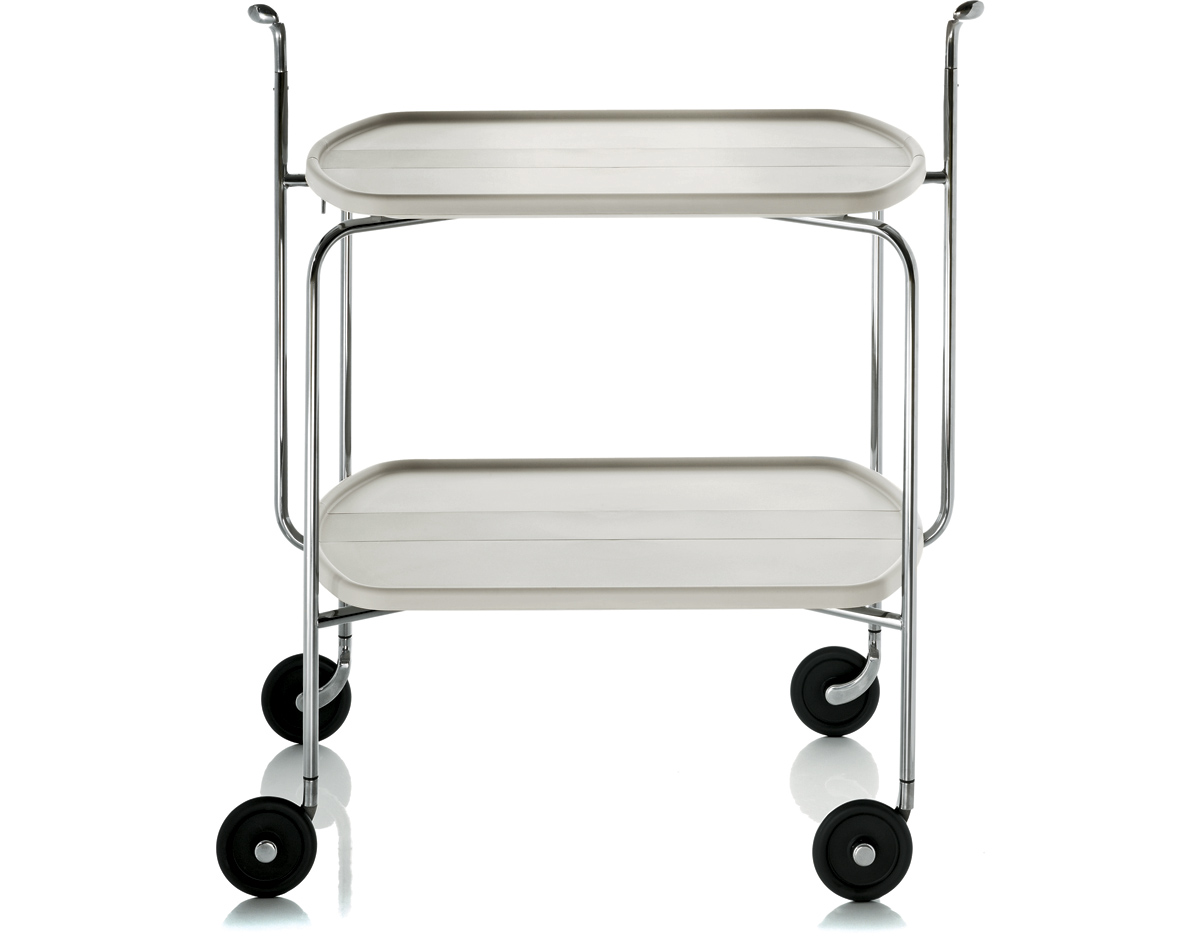 Magis transit folding trolley - Table desserte pliante ...