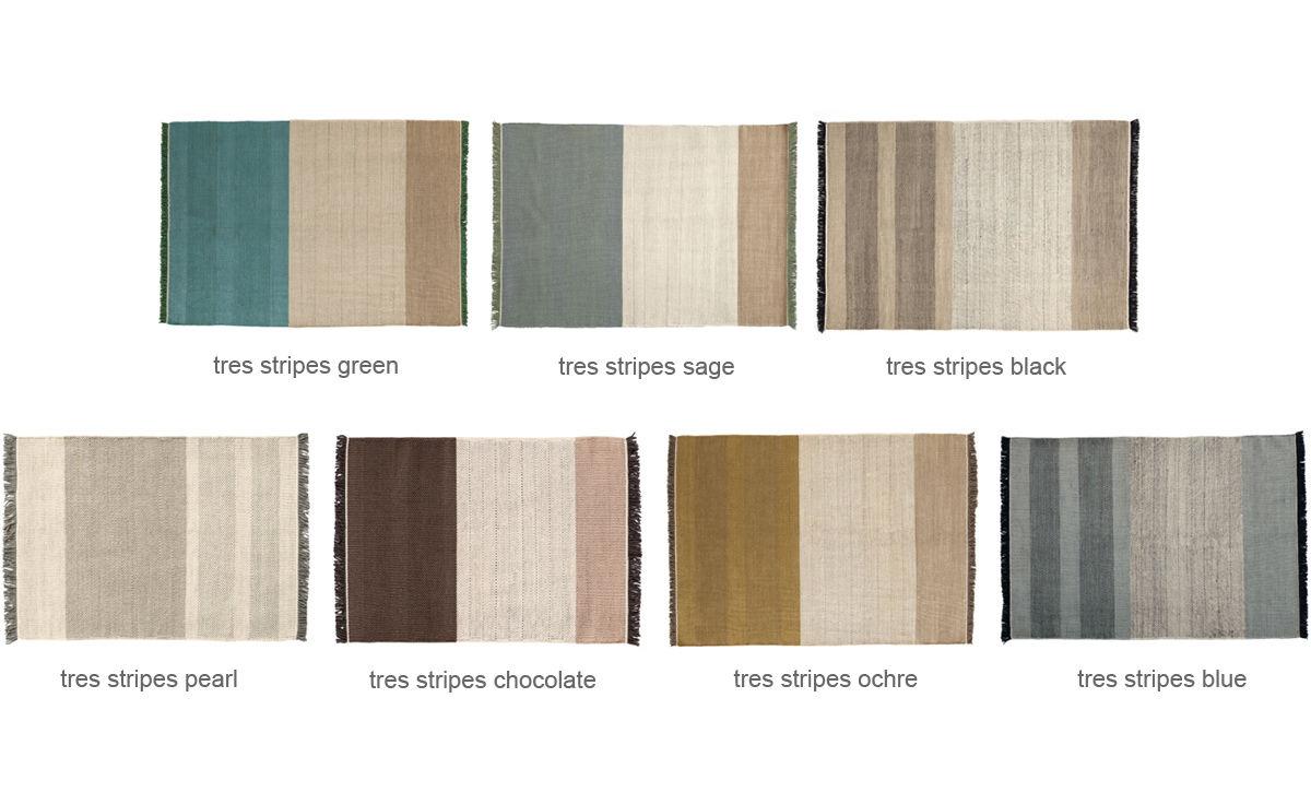 Tres Stripes Rug - hivemodern.com