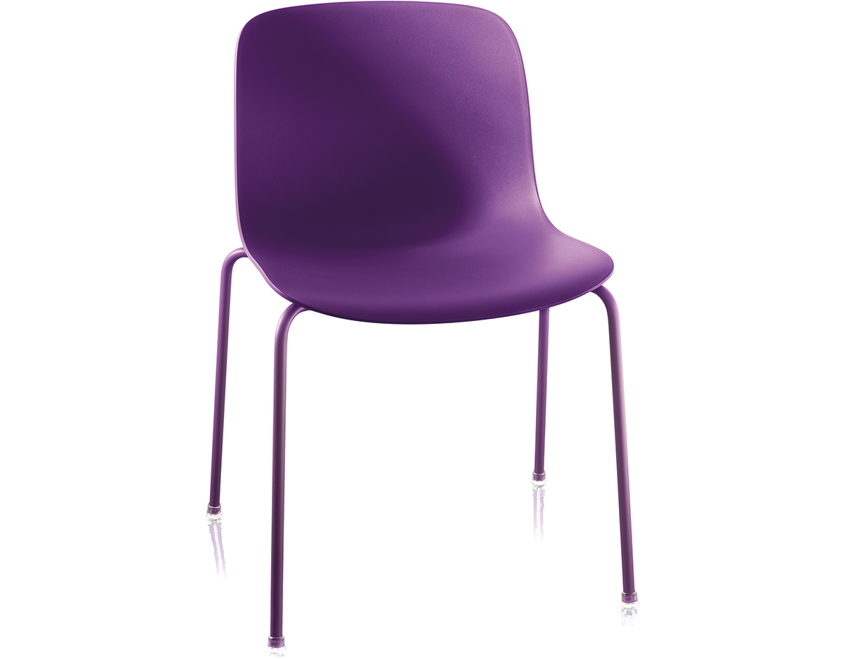 Magis Troy Plastic Stacking Side Chair Two Pack