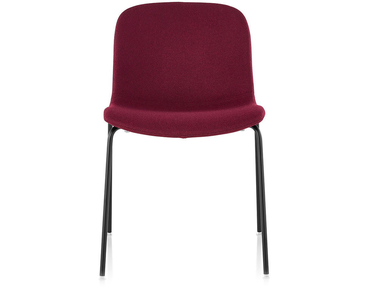 Magis troy upholstered stacking chair two pack for Magis chair
