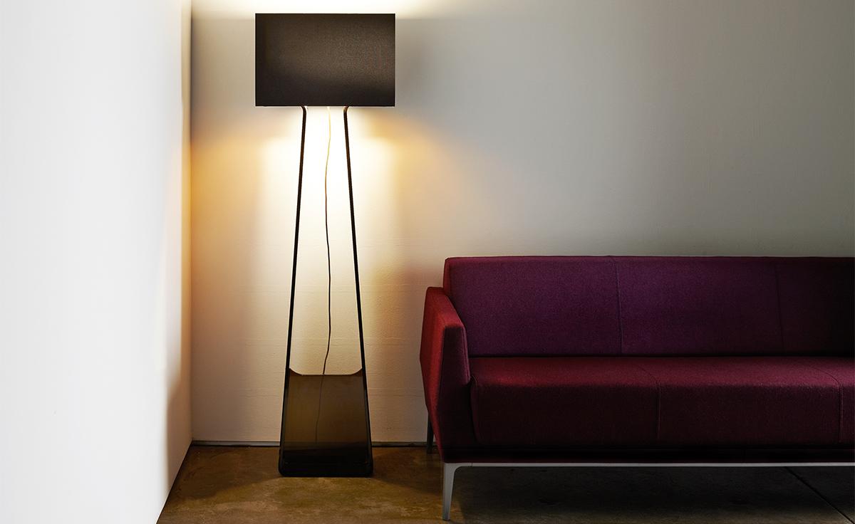 Tube top 60 floor lamp hivemodern tube top 60 floor lamp aloadofball Images