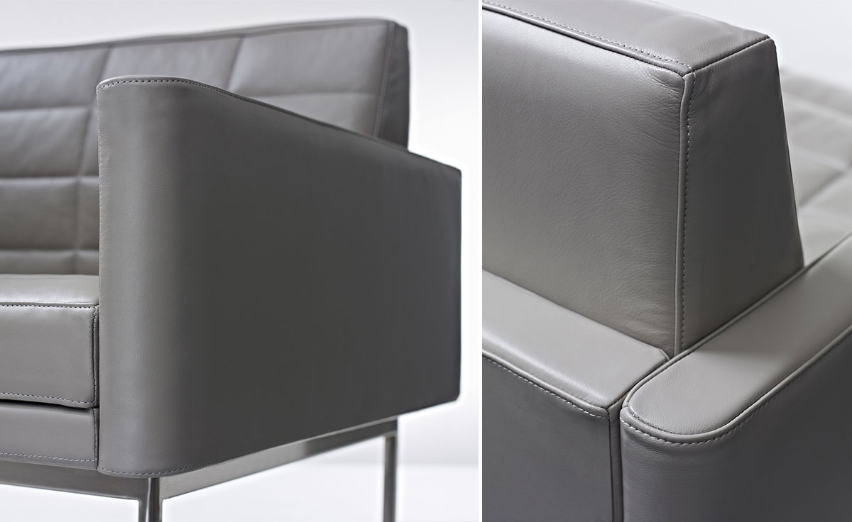 Tuxedo Club Chair With Arms Hivemodern Com