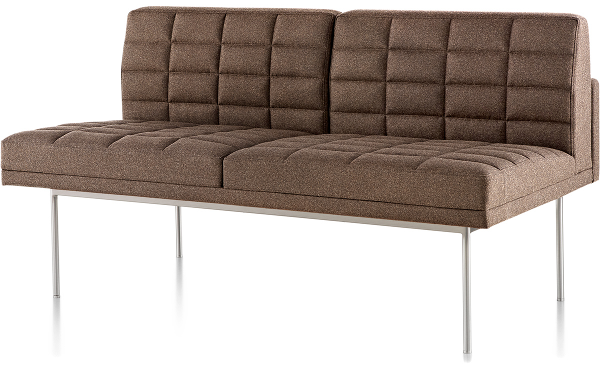 Tuxedo Settee Without Arms Hivemodern Com