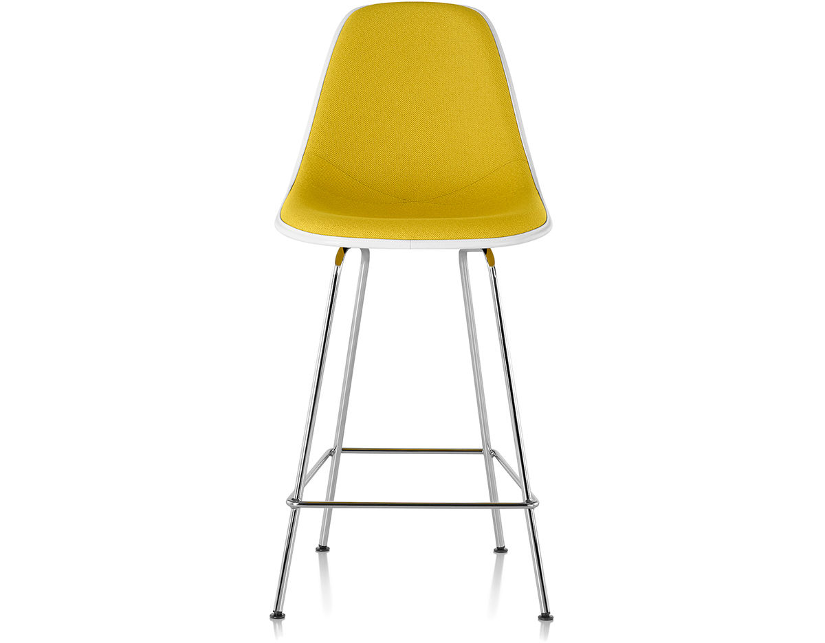 eames® upholstered stool  hivemoderncom - overview